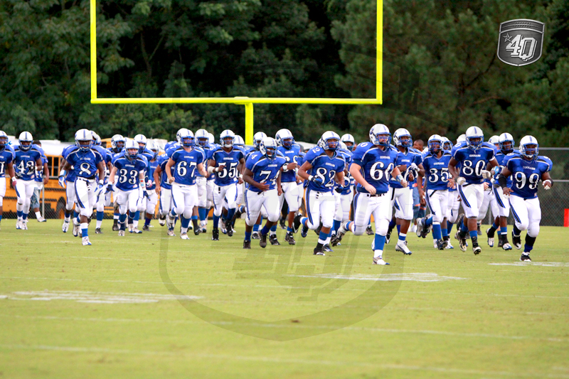 The Godby Cougars take the field
